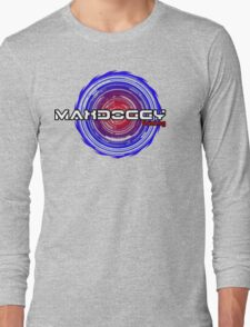 Maxdoggy Gaming - Black Outline Long Sleeve T-Shirt
