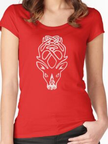 Falkreath Alternate Color Women's Fitted Scoop T-Shirt