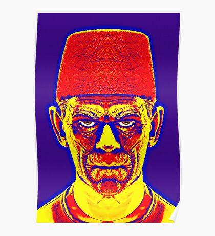 Boris Karloff, alias in The Mummy Poster