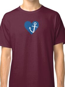 Anchor with heart Classic T-Shirt