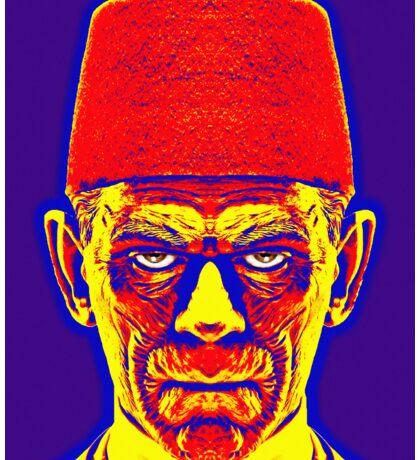 Boris Karloff, alias in The Mummy Sticker