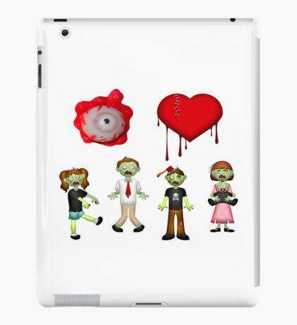 Eye Heart Zombies iPad Case/Skin