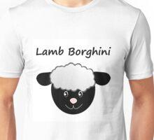 Lamb Borghini funny Sheep Pun Unisex T-Shirt