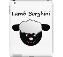 Lamb Borghini funny Sheep Pun iPad Case/Skin