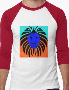 Lion 3 Men's Baseball ¾ T-Shirt