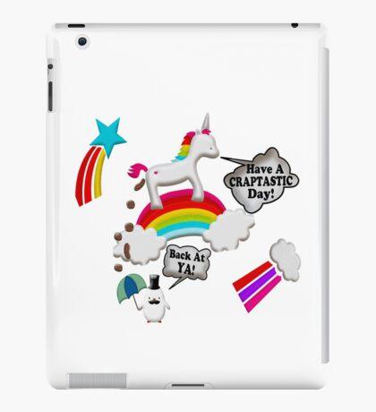 Unicorn And Penguin Craptastic Day iPad Case/Skin