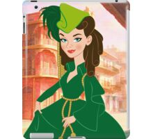 Curtain gown Scarlett iPad Case/Skin