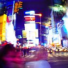 New York Lights by Tyson Battersby