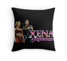 Xena & Olympia Throw Pillow