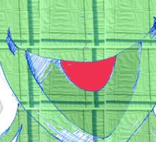 kermit tartan Sticker