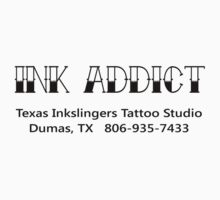 Ink Addict Texas Inkslingers One Piece - Short Sleeve