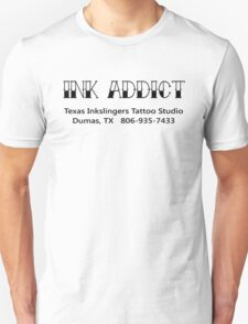 Ink Addict Texas Inkslingers T-Shirt