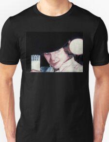 Malcolm McDowell Clockwork Orange portrait Unisex T-Shirt