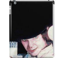 Malcolm McDowell Clockwork Orange portrait iPad Case/Skin