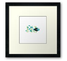 Fishgroup Framed Print