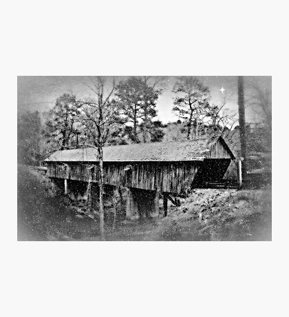 The Old Covered Bridge Photographic Print