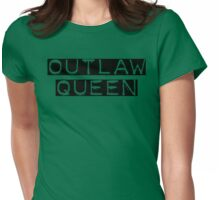 Once Upon a Time - Outlaw Queen Womens Fitted T-Shirt