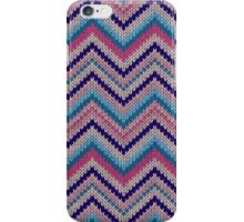 Modern Knit Texture Pattern iPhone Case/Skin