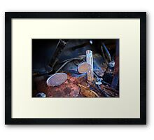 Power Wagon Pedals Framed Print