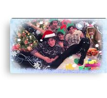 the fantastic foursome - christmas Canvas Print