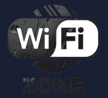 Graphic Design T-Shirts WiFi Zone  One Piece - Long Sleeve