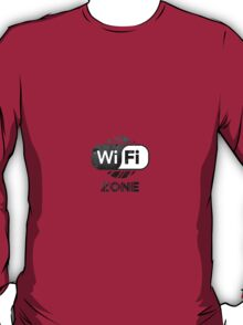 Graphic Design T-Shirts WiFi Zone  T-Shirt