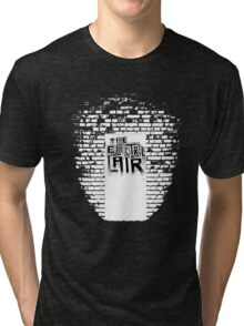 A Hole In The Wall Inverted Tri-blend T-Shirt