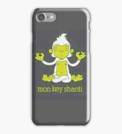 Monkey Shanti iPhone Case/Skin
