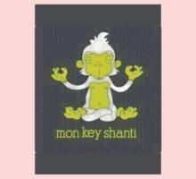 Monkey Shanti One Piece - Long Sleeve