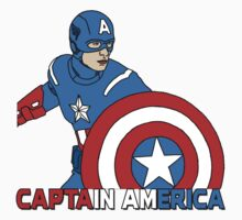 Captain America by auriannewarley
