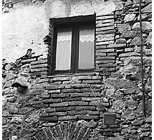 Bricked-In Window Photographic Print