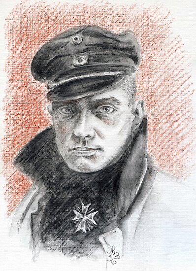 Manfred Von Richtofen - The Red Baron by Francesca Romana Brogani