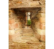 Window in the Bishops Palace Photographic Print