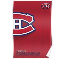 Montreal Canadiens Minimalist Print Poster
