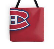 Montreal Canadiens Minimalist Print Tote Bag