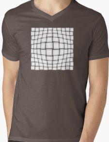 Abstract pattern Mens V-Neck T-Shirt