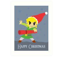 Hyrule Holidays Art Print