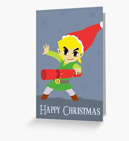 Hyrule Holidays Greeting Card
