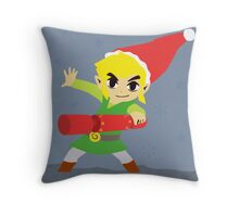 Hyrule Holidays Throw Pillow