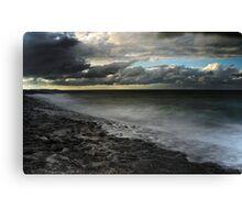 Threatening sky Canvas Print