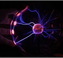 Playing with a Plasma Ball - 3 by Wolf Sverak