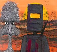 """ Ned Kelly's Mate"" Australia; iPad Case by EJCairns"