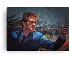 Dr. Who goes to war Canvas Print