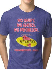 Kamekona's (no shirt...) Tri-blend T-Shirt
