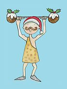 Christmas Strongman  by AndyLanhamArt