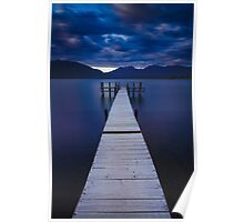 Lake Te Anau Pier Poster