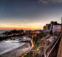 Tenby Harbour in November by Simon West