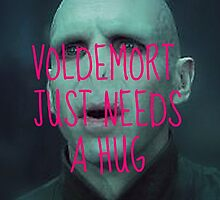 Voldemort needs a hug by cleorigami