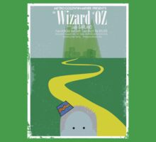 Wizard Of Oz Distressed by scribblechap