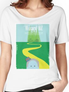 Wizard Of Oz Distressed Women's Relaxed Fit T-Shirt